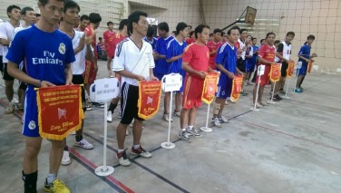 Tài trợ Giải bóng chuyền Sở Giáo dục Long An 6/2014