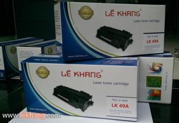 Mực Laser Lê Khang 49A - ISO 9001, 14001