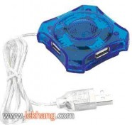 Hub USB 4 port trong suốt