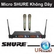 Micro shure không dây UR12D