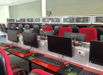 Thi công phòng Net game