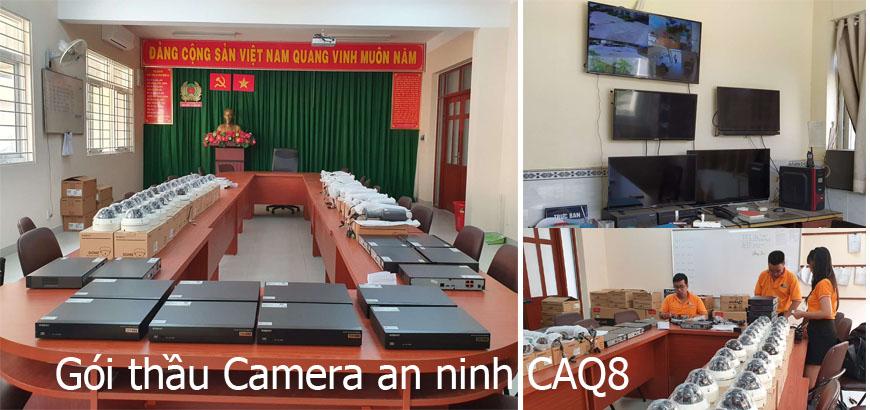 Gói thầu Camera an ninh CAQ8, >1 tỷ đồng