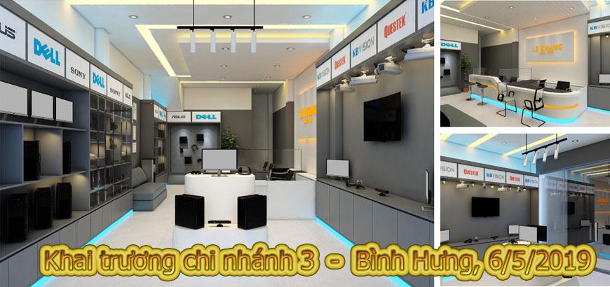 Khai trương CN 3 - Bình Hưng