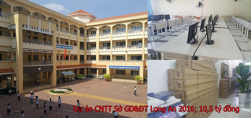 Dự án CNTT SGD LA 2016